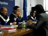 Discussione tesi di Laurea Magistrale