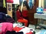 Girls Having Fun In Hostel whatsapp trending videos clip 15 Sexy dance on song