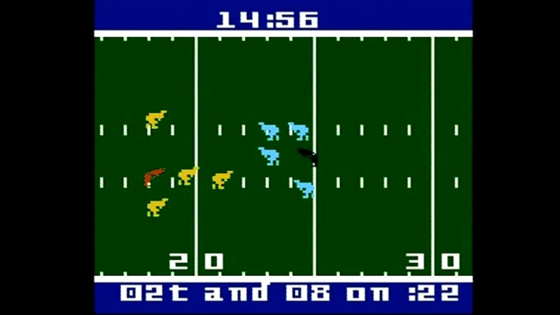 LETS PLAY AMERICAN FOOTBALL ON INTELLIVISION