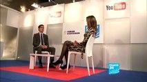 Mathieu Gallet, PDG de l'Institut national de l'audiovisuel (INA) au Forum d'Avignon