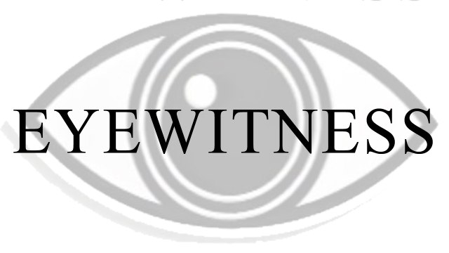 Eyewitness Trailer