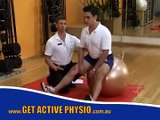 Swiss Ball for Rehab, Core Stability & Back Pain - Paul Wright
