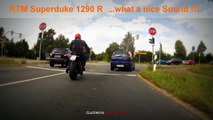 KTM Superduke 1290 R with SC Project Full exhaust
