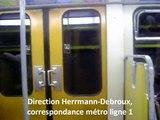 Métro de Bruxelles / Metro van Brussel / Brussels Metro
