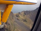 Landing at Heimaey  in the Westman Islands Iceland