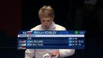 Kovalev wins Bronze - Men's Individual Sabre   London 2012 Olympics