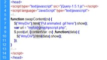 jQuery Ajax PHP Tutorial : Swap out page content on your website using PHP