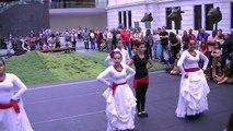 Bomba Puerto Rican Dance by Julia De Burgos dancers