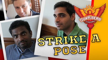 Photoshoot exclusive: The Sunrisers give us their best model poses.