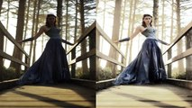 Adobe Photoshop Tutorials CS6 How to Magical Forest vibrant colors contrast fairytale reto