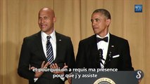 Barack Obama fait un discours hilarant - vostfr