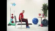 Besoin2sport - Tonification Bras - Dips avec chaise - Niveau : difficile