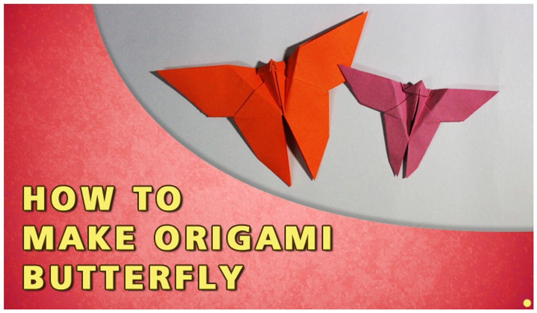 Origami Yoshizawa Butterfly - YouTube | 1080x1851