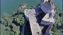 Niedzica Castle Czorsztyn Poland Drone Filmed