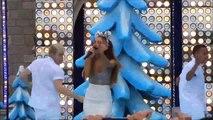 Ariana Grande Santa Tell Me 2014 Disney Parks Christmas Day Frozen Parade #ariana grande