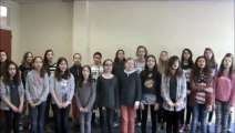 Ecole en choeur- Académie de Poitiers- Collège Anne Frank de Sauzé-Vaussais (79)- SOS d'Indila