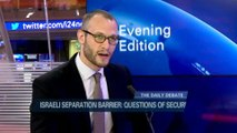 The question of security regarding  the Israeli separation barrier with Calev Myers & Bashar Iraqi