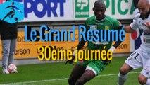 Championnat National 2014-2015 - 30ème journée - Les buts