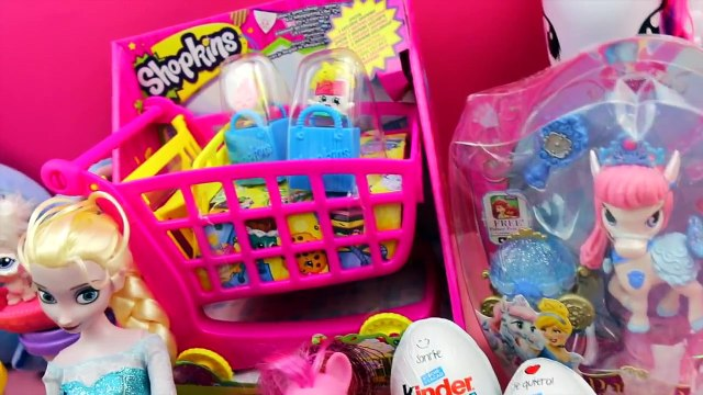 Kinder Surprise Eggs   Toy hunting Easter Toys My Little Pony Shopkins Play Doh Frozen Cars Disney