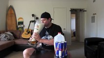 Extreme Redbull and Milk Challenge