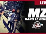 """MZ """"Dans le bendo"""" en live dans Planète Rap"""