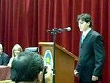 Benjamin Dalale discurso graduacion Universidad Nacional de Tucuman Licenciado en Administracion de Empresas Contador Publico Nacional