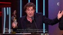 Thierry Frémont reçoit le Molière du Comédien dans un second rôle - Les Molières - France 2