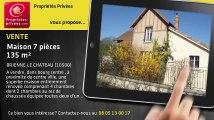 A vendre - maison - BRIENNE LE CHATEAU (10500) - 7 pièces - 135m²