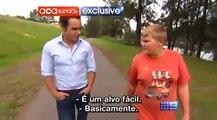Entrevista com o Zangief Kid Vitima de Bullying (Casey Heynes) - Legendado (Gordinho Zangief)