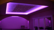 LED lighting from e-technologia. Starry Sky  Ballroom lighting. fiber light