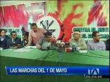 Opiniones encontradas por las marchas del Uno de Mayo