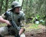 Airsoft War AK47, P90, MP5 Alien Pulse Rifle Section8 Scotland