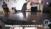 Auto - Designers automobiles au salon du meuble de Milan