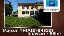 Vente - maison - THIAIS (94320)  - 98m²