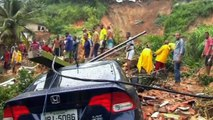 At least 12 killed in mudslides in Salvador, Brazil