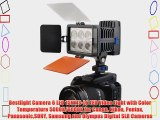 Bestlight Camera 6 LED 15W IS-L6 LED Video Light with Color Temperature 5000K/6000K for Canon