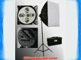 ePhoto 1000W Photo Studio Digital Video Lighting Photography Video Softbox COOL Fluorescent