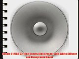 ePhoto A121BH 22-Inch Beauty Dish Bracket with White Diffuser and Honeycomb Mount