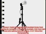 Neewer? Studio Photography 45W Backlight Strobe Flash Lighting Kit including (1) 45W Strobe