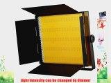 ePhoto 900 LED Dimmable Photography Video Camera DSLR 5400K/3200K Lighting Light Panel for