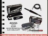 Rode NTG3 Condenser Shotgun Microphone with Storage Cylinder (PKG) - Rode Blimp - Rode Micro