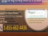 #1 855 662 4436 Xerox Printer Technical Issues-Printer Not Responding-Driver issues