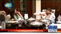 Lassi Mein Naan Dabo Dabo Kar Khana Mujhe Bohat Pasand Hai - Abid Sher Ali Telling His Favourite Dish