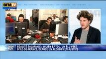 """Inégalité salariale homme-femme: Julien Bayou demande """"des amendes dissuasives"""""""
