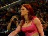 Jeff Hardy with Lita Vs. Brock Lesnar