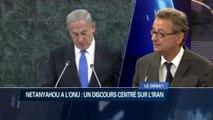 Analyse et commentaires après le discours de Benyamin Netanyahou a l'ONU