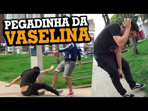PEGADINHA DA VASELINA (DANDO MUITO ERRADO) - Stupidshow