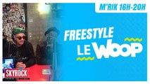 Le Woop' en freestyle sur Skyrock !