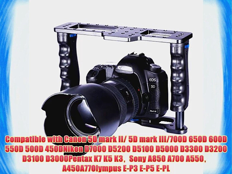 Xit XTCG5DIII Pro Series Battery Power Grip for Canon EOS 5D Mark III Digital SLR Cameras Black BG-E11