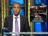 Perú: aprueba congreso que Pedro Cateriano presida a ministros
